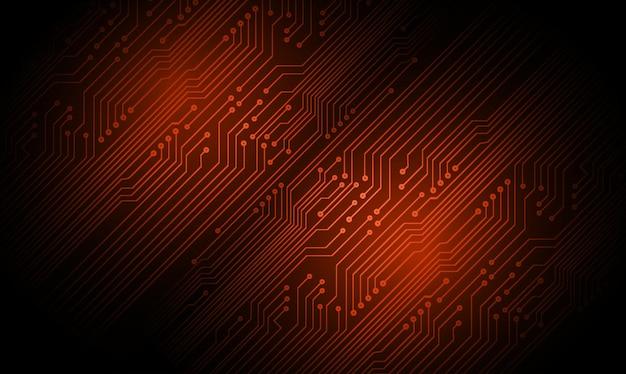 Cyber circuit toekomstige technologie concept achtergrond