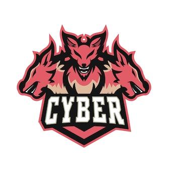 Cyber e sports-logo