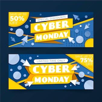 Cyber maandag banner