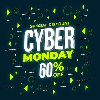 Cyber maandag concept