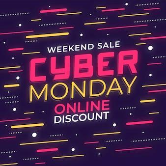 Cyber maandag ontwerp