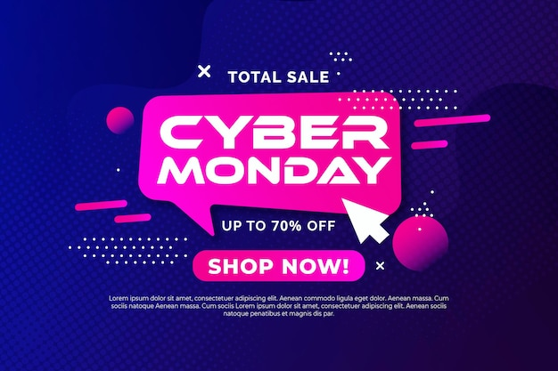 Cyber maandag stijl