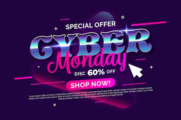 Cyber maandag thema