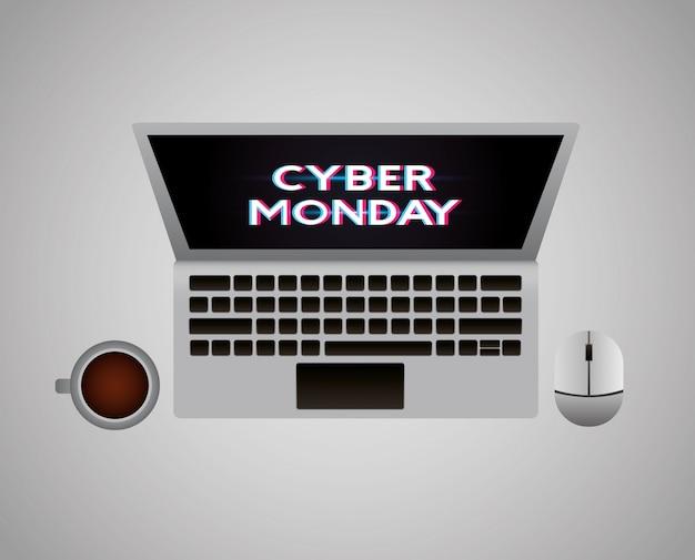 Cyber maandag winkel