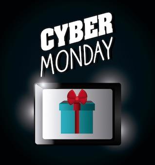 Cyber maandag winkelseizoen