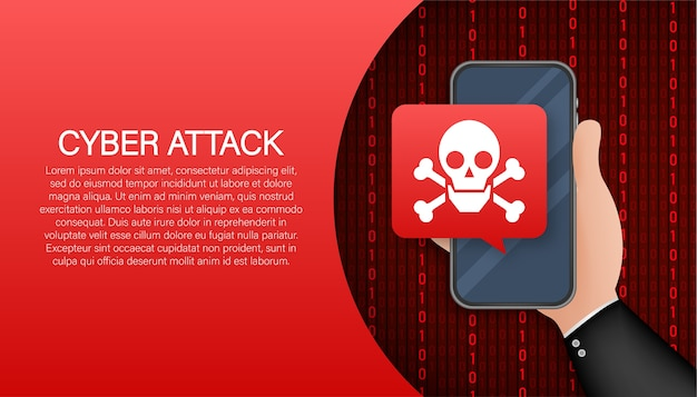 Cyber veiligheidsconcept. cyber veiligheidsconcept. virusbescherming