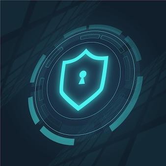 Cyber veiligheidsconcept