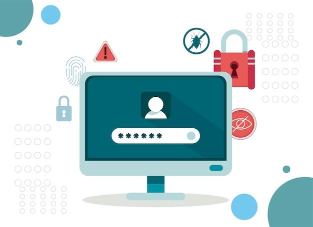 Cyberbeveiliging op desktop