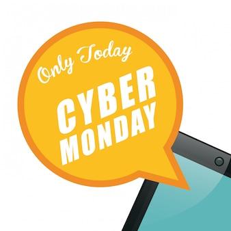 Cybermaandagen e-commerce promoties en verkoop