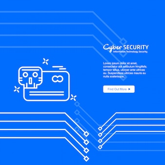 Cybersecurity achtergrond