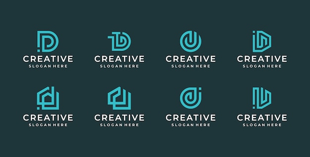 D brief logo afbeelding