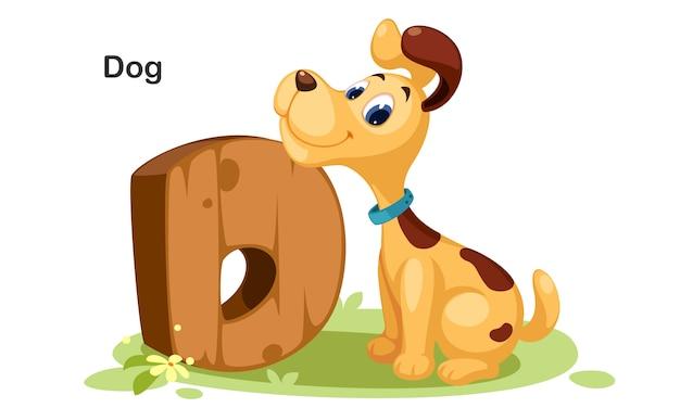 D voor hond