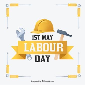 Dag van de arbeid achtergrond