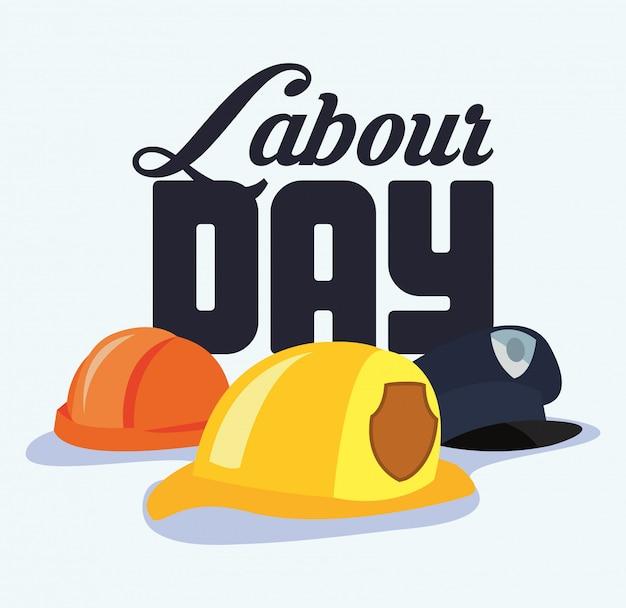 Dag van de arbeid kaart