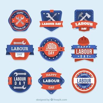 Dag van de arbeid label