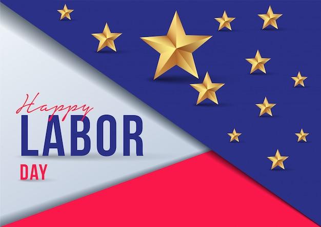 Dag van de arbeid promotie promotie banner sjabloon