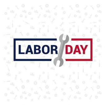 Dag van de arbeid stamp