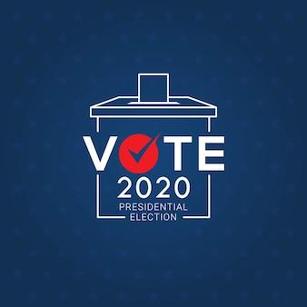 Dag van de presidentsverkiezingen 2020