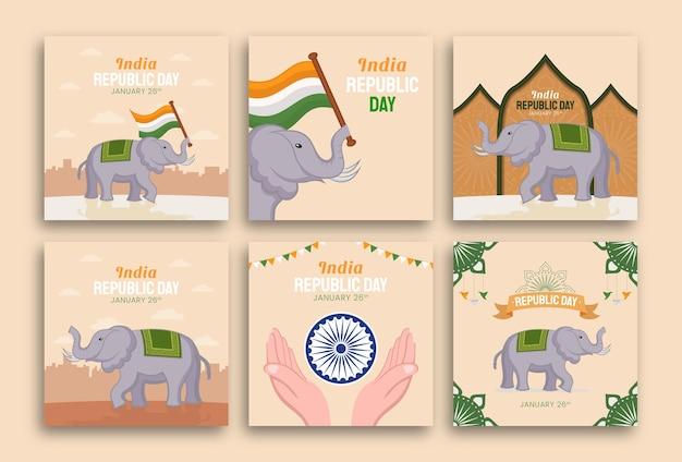 Dag van de republiek in india