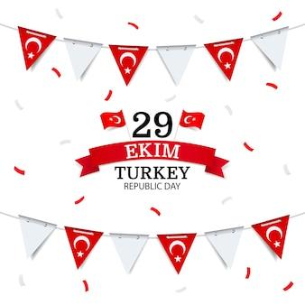Dag van de republiek turkije