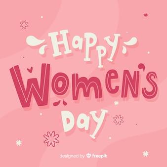 Dag van de vrouw belettering