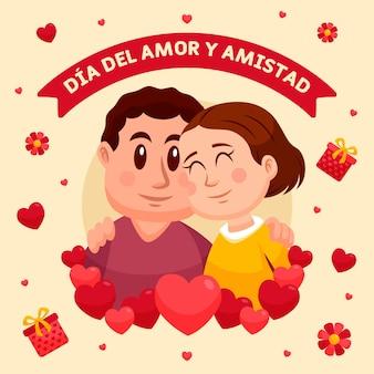 Dag van liefde en vriendschap