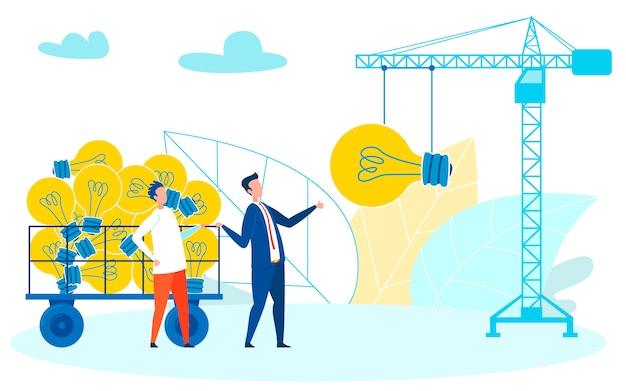 Dagelijks, creatief creatief idee structureren