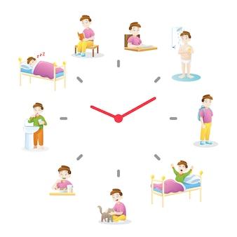 Dagelijkse routine-activiteiten voor kinderen