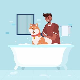Dagelijkse scènes met huisdieren