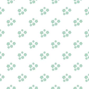 Daisy veld. de eenvoudige kamille bloeit naadloos patroon.