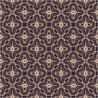 Damast bloemen barokke elementen met patroonstijl