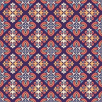 Damast naadloos patroon, ornament voor stof, behang, verpakking. decoratieve print