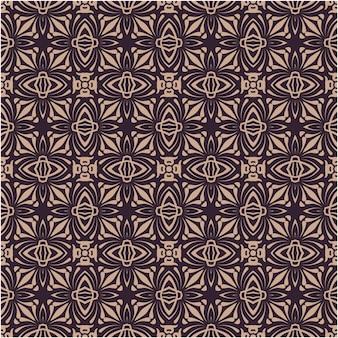 Damast naadloos patroon voor behang, textiel, onmiddellijke verpakking