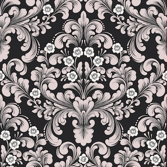 Damast naadloos patroon