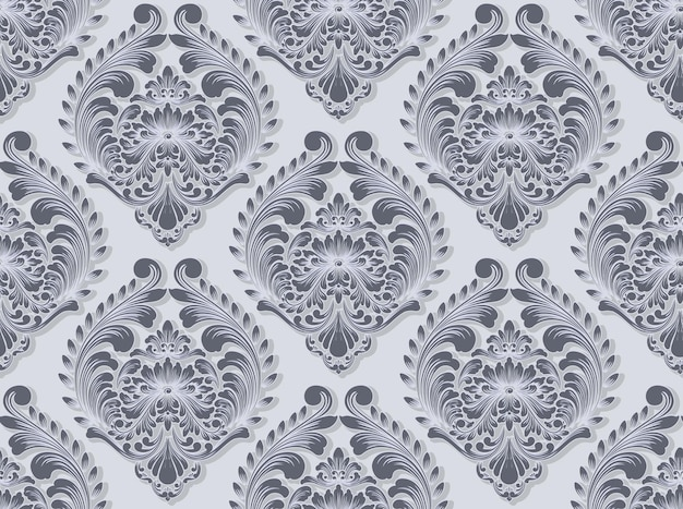 Damast naadloze patroon achtergrond