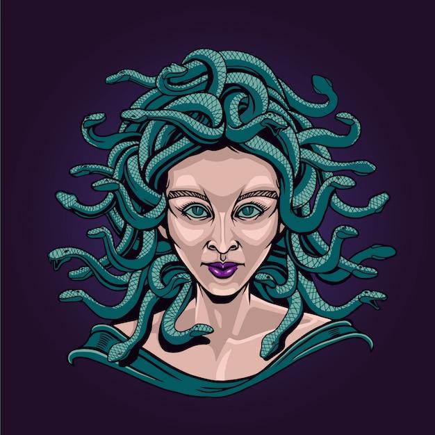 Dame medusa