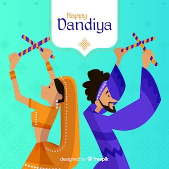 Dandiya-dans