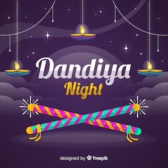 Dandiya nacht achtergrond