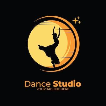 Dans ballet logo ontwerpinspiratie