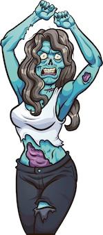 Dansende zombie