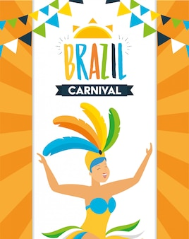 Danser brazilië carnaval