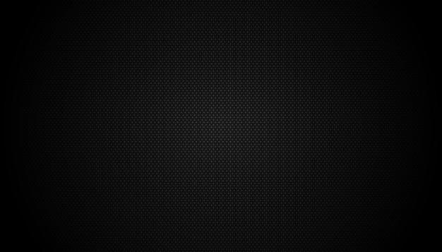 Dark black geometric grid background moderne donkere abstracte vectortextuur
