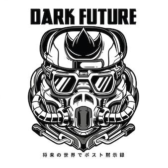 Dark future black n white