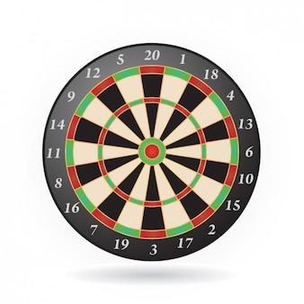 Dart board icoon