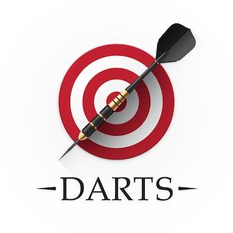 Darts game embleem