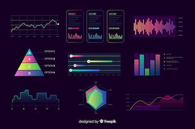 Dashboard-elementenverzameling