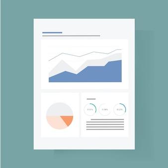 Dashboard pictogram vectorillustratie