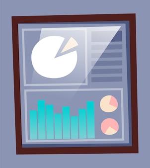 Data afbeelding presentatie