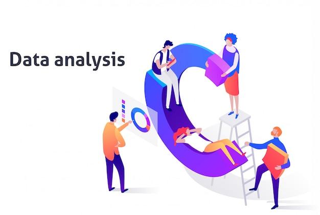 Data-analyse illustratie