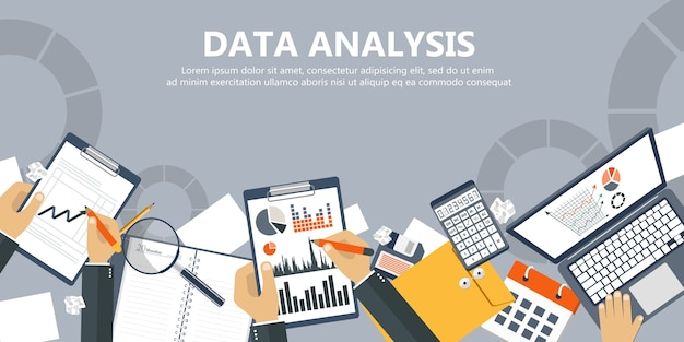 Data-analysebanner
